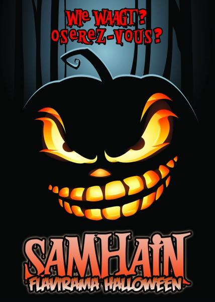 Samhain 2015 flyer A5 NL-FR recto